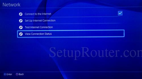 PS4 IP Address