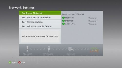 Xbox 360 IP Address