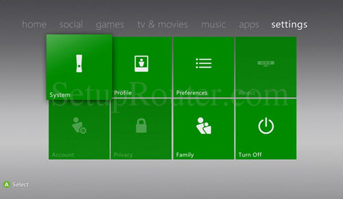 how to open xbox 360 dashboard on xbox one