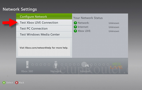 Static IP Address for Xbox 360