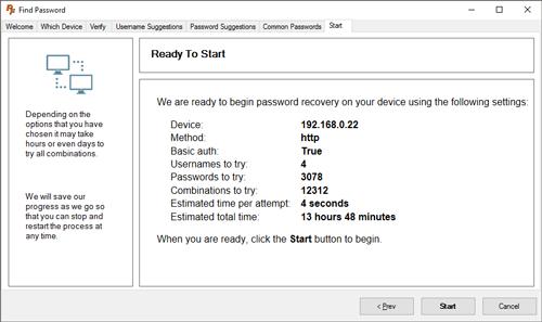 Router Password Cracker
