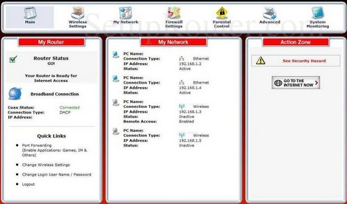 how to change the ip address of the actiontec mi424wr gen2 rev f rh setuprouter com mi424wr rev f manual mi424wr rev i firmware download