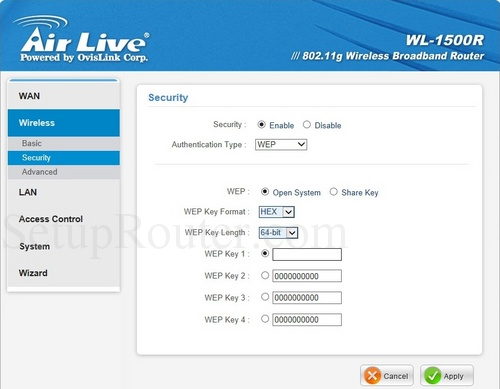 AirLive WL-1500R Driver for Windows Download