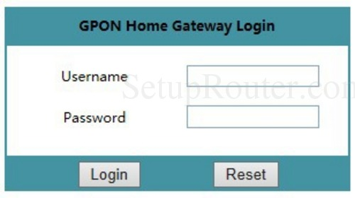 How to Login to the Alcatel-Lucent G-240W-B
