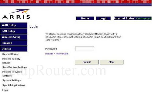 how to change your rounters password cogeco