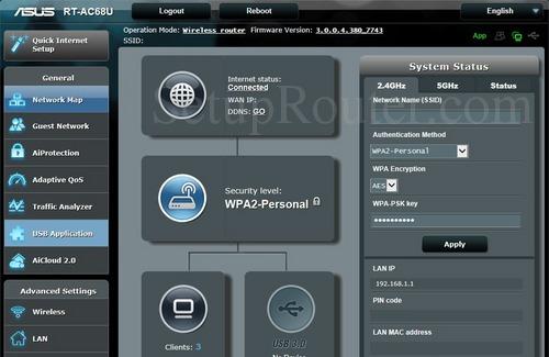 Remote access to RT-AC68U
