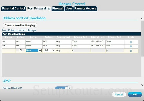Belgacom b-box 3 Port Forwarding Guide
