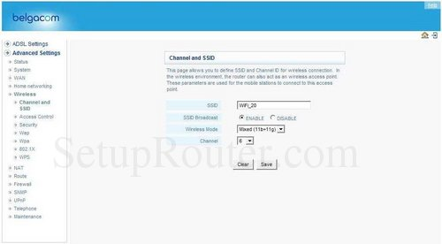 how to change channels on a fido router