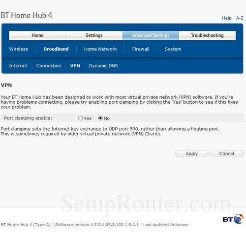 Vpn On Bt Home Hub