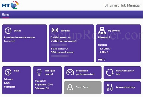 How To Login To The Bt Home Hub 6