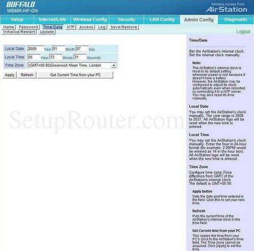 how to change wifi password buffalo airstation n300