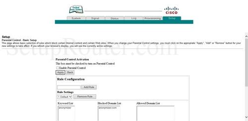 how to change wifi password cisco modem dpc2320