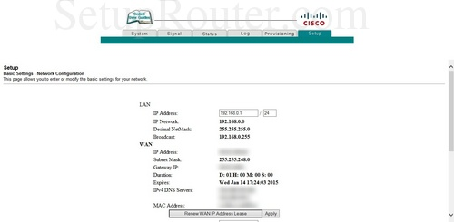 how to change ip address on cisco router