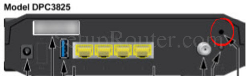 how to connect cisco router dpc3825