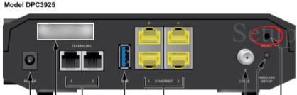 Cisco DPC3925 Reset Router to Default