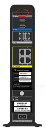 Cisco DPC3941T XFINITY Reset