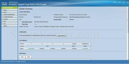 how to login to the cisco rv042g rh setuprouter com RV042 Lights RV042 DefaultPassword