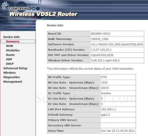 how to get into a ip router