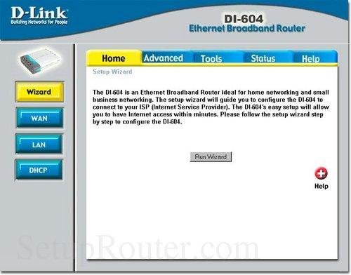 dlink 604:
