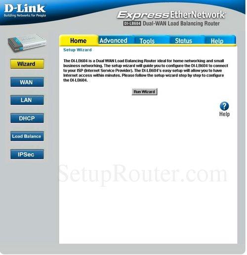 Dlink DI-LB604 Port Forwarding Guide