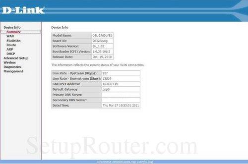 how to login to the dlink dsl 2760u rh setuprouter com d-link dsl-2760u manual ACCA Manual D PDF