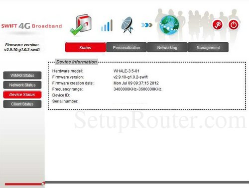Setup WiFi on the GreenPacket MF250