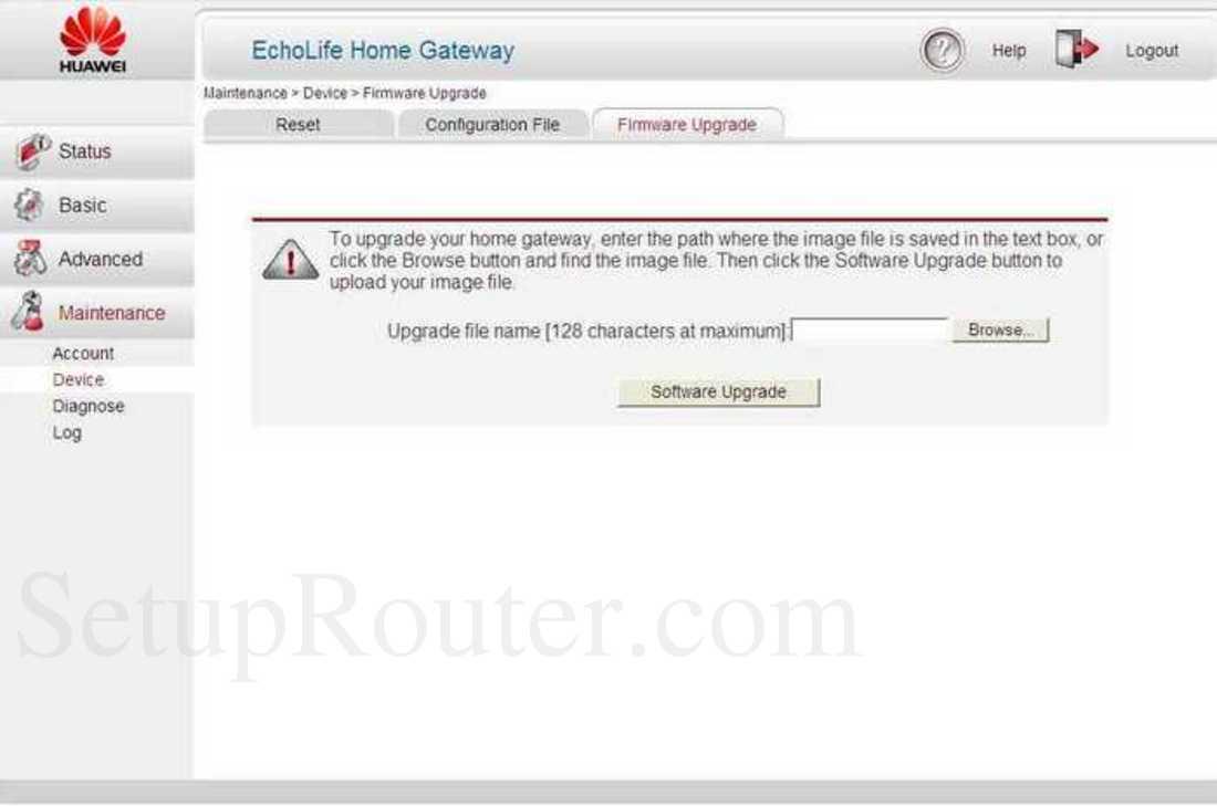 Huawei Echolife Hg532 Firmware upgrade