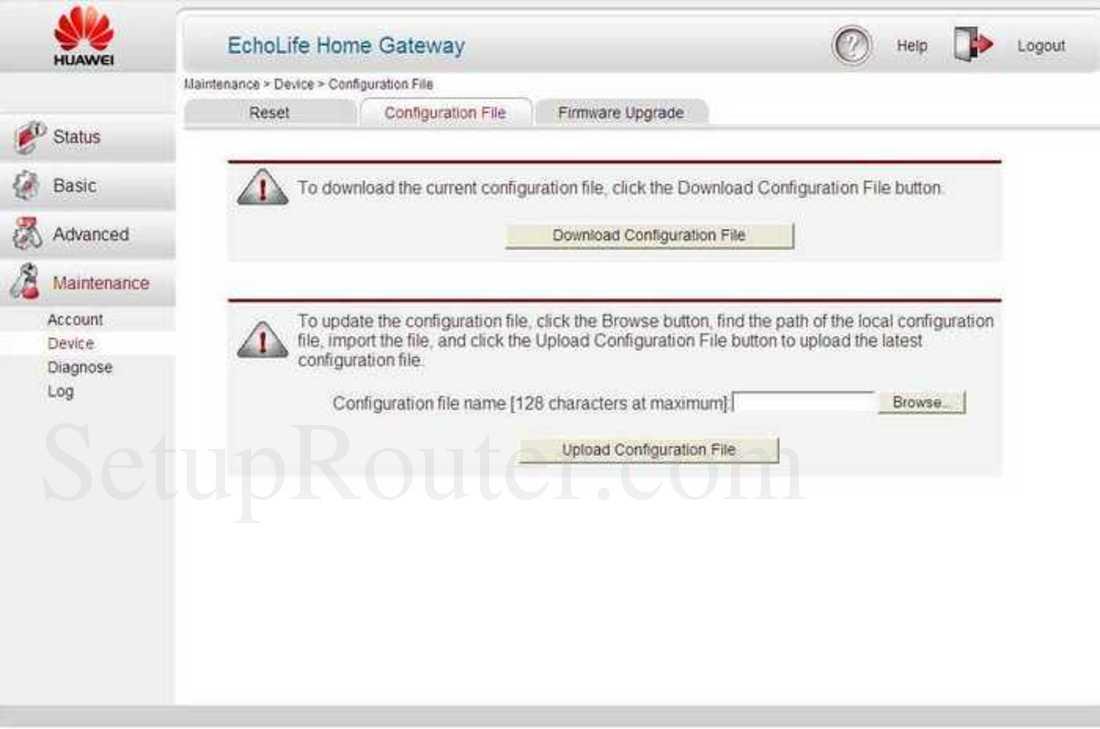 huawei-echolife-hg521-firmware-update