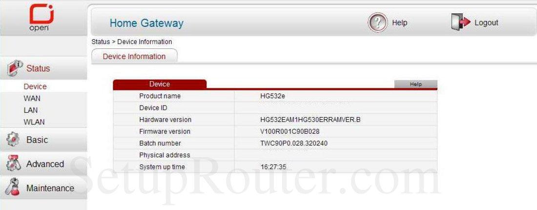 firmware hg532e