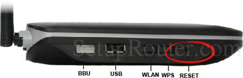 Huawei HG8245H Reset