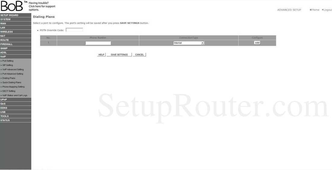 BoBTM – 4 port wireless VoIP router - Internode