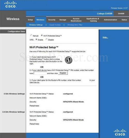 Linksys Router Configuration General OpenDNS