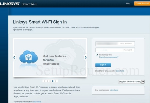 How to Login to the Linksys EA6350