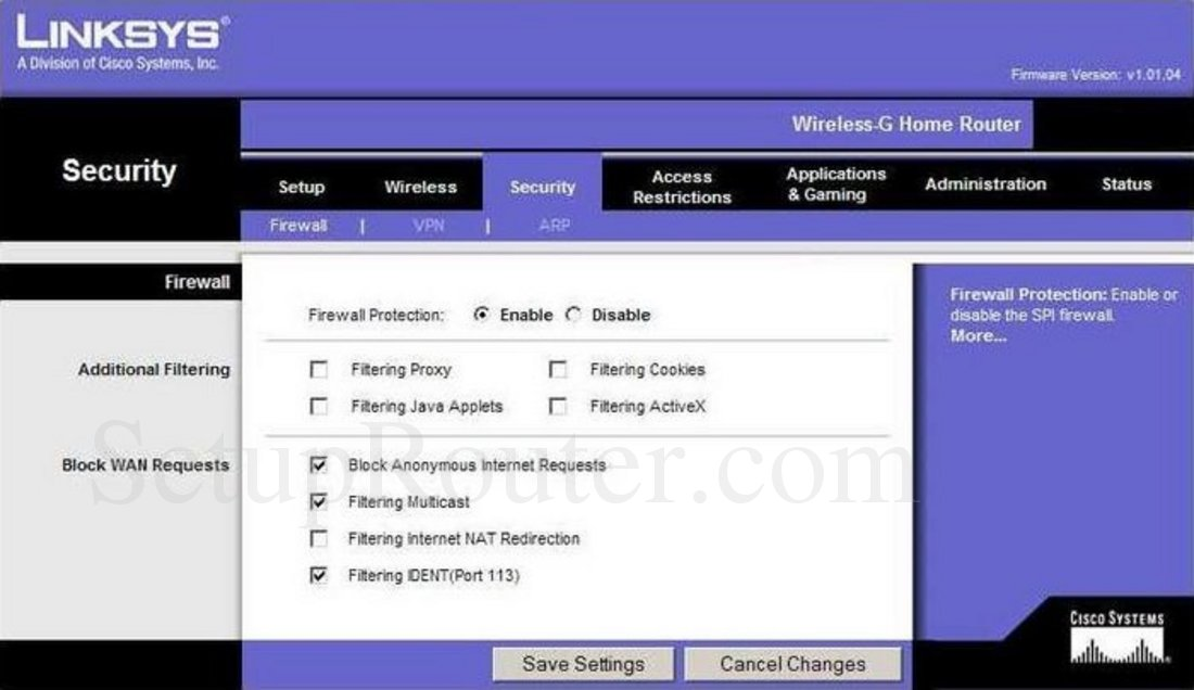 how to change the mac filtering on your router linksys