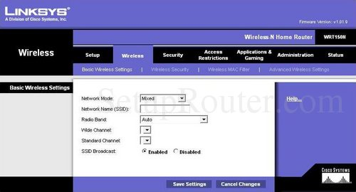 How To Set Password On Linksys Wireless G Router How to set