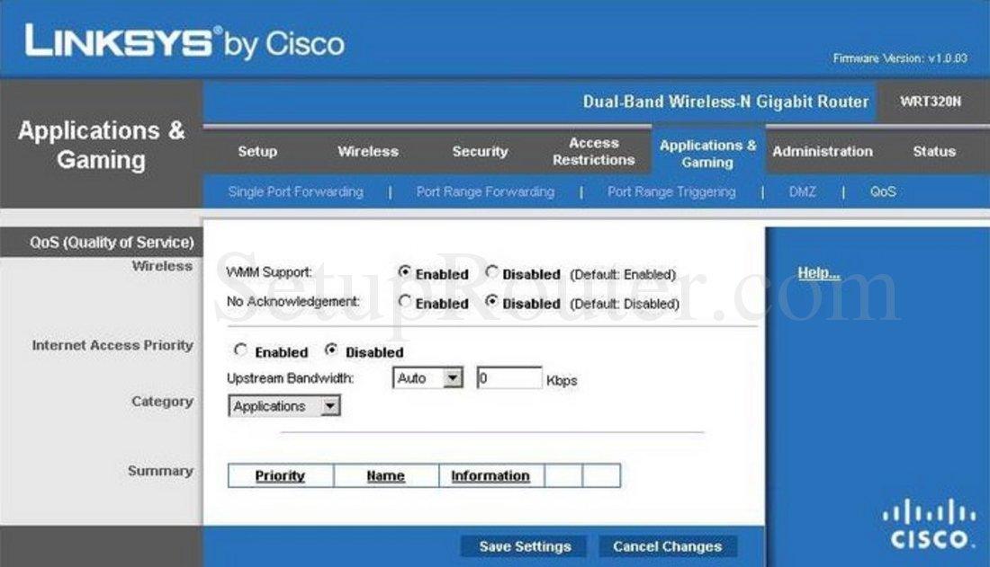 cisco wrt320n software
