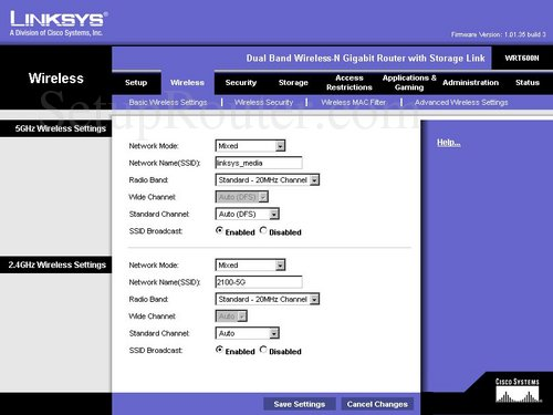 how to change guest settings on linksys router