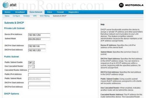 how to find motorola ip address