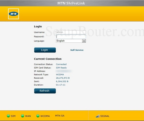 How to Login to the MTN ShareLink