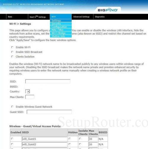 how to change wifi password netcomm