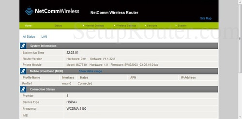 how to change wifi channel netcomm