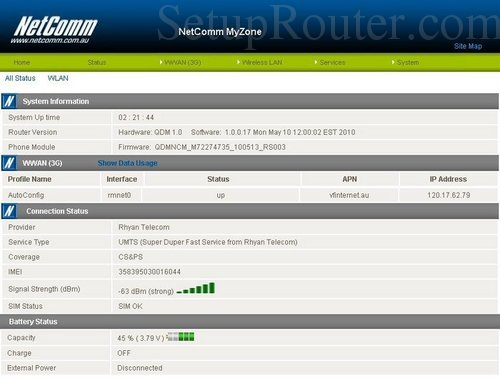 how to change wifi channel netcomm