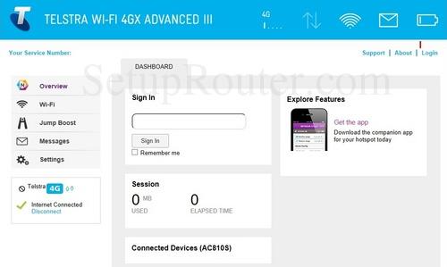 admin password for netgear