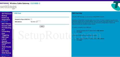 netgear router cg3100d-2 firmware update