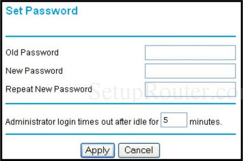 how to find your netgear wireless router password