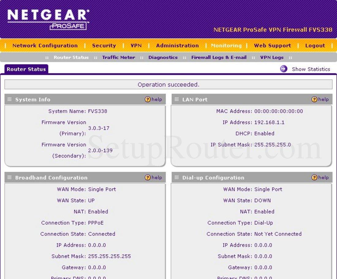 netgear fvs338 firmware