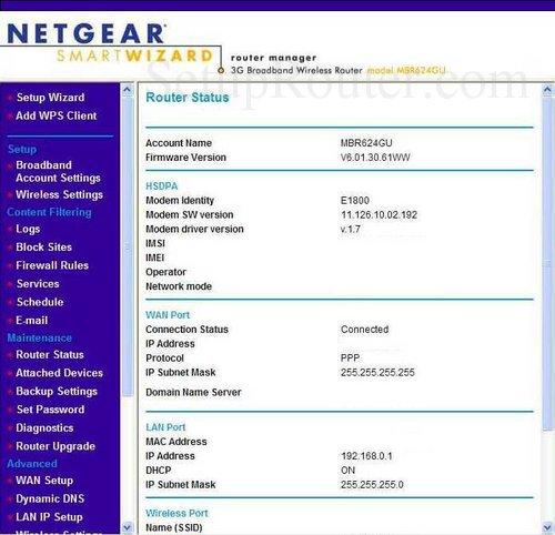 netgear router setup instructions