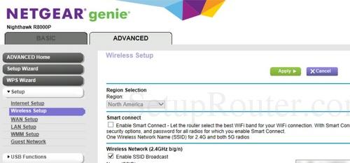 Netgear Nighthawk R8000P Screenshots