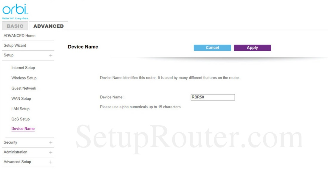 SetupRouter