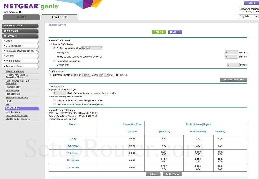 nighthawk r7000 logout firmware version v1.0.9.42_10.2.44 basic